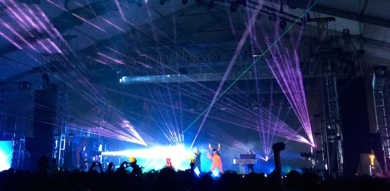 Pet Shop Boys and their lasers